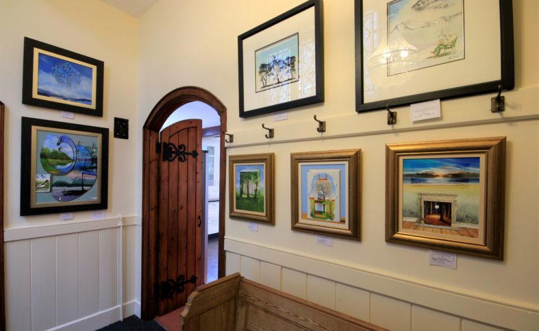 Artist Neil Simone's Chapel Gallery