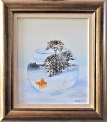 A Breath of Fresh Air Original Painting