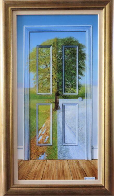 A Door for all Seasons Original Painting