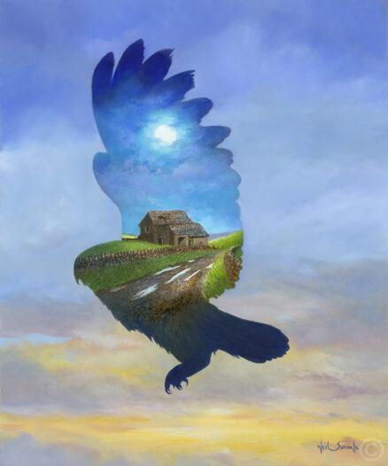 Barn Owl Giclée Print