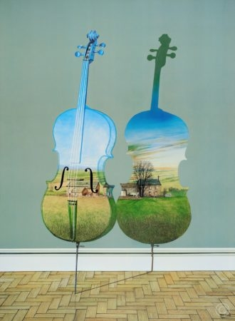 Cello Nocturne Echoes from the Past Print