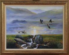 Cloud Illusions Original Painting