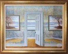 Deceptive Perspective Original Painting
