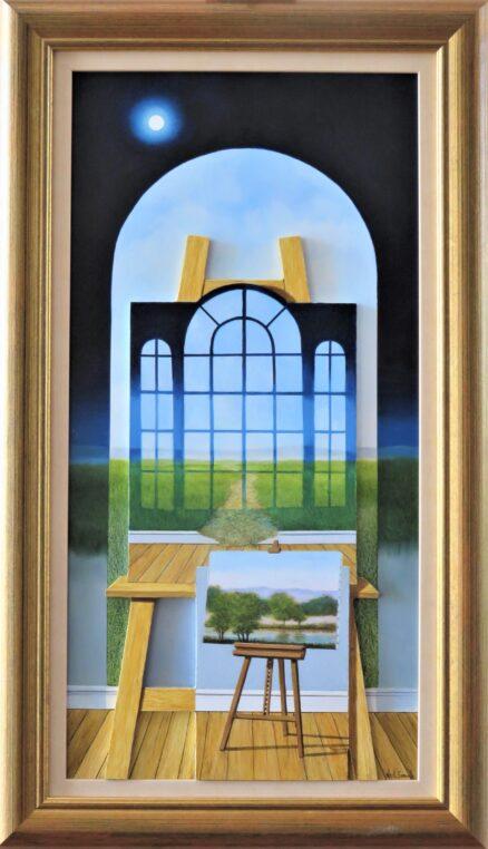 Dimensional Outcome Original Painting