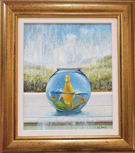 Disturbing the Peace Original Painting