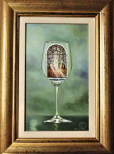 Double Glazed Window Original Painting