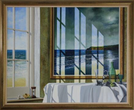 Ephemeral Margins of Light Original Painting