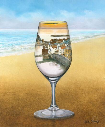 Glass of Port Giclée Print