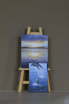 Leap of Faith Original Painting