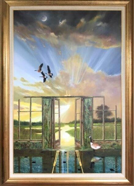 Limitless Horizons Original Painting