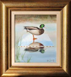 Mallard on Canvas Original Painting