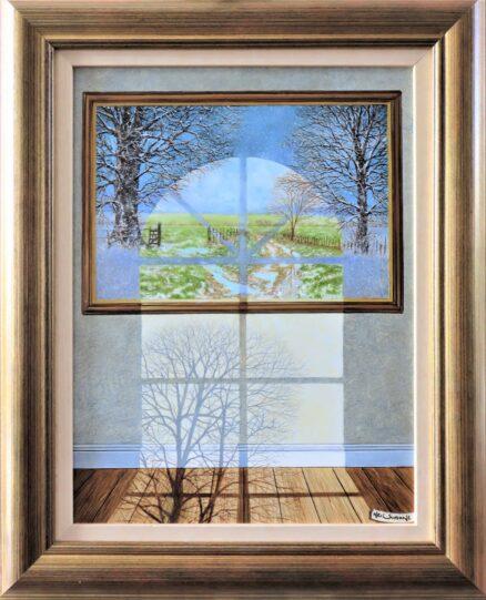 Midwinter Thawcast Original Painting