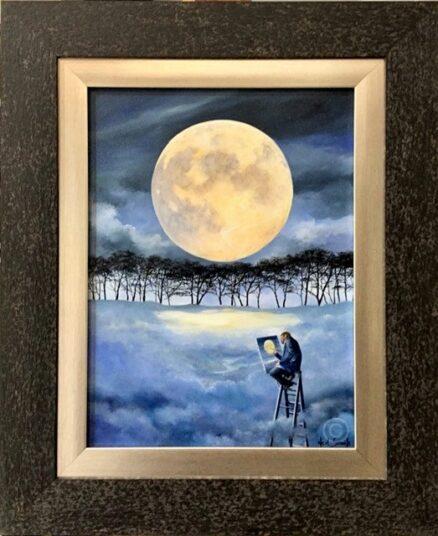 New Moon Original Painting