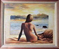 Quiet Contemplation Original Painting