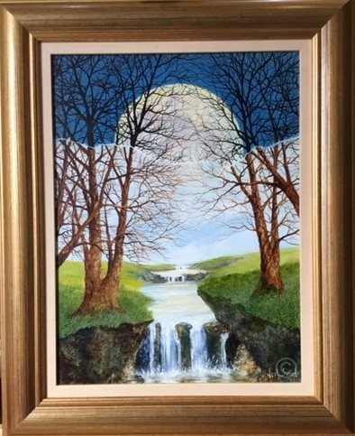 Rise and Fall Original Painting