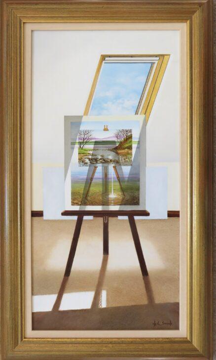 Shades and Shadow Original Painting
