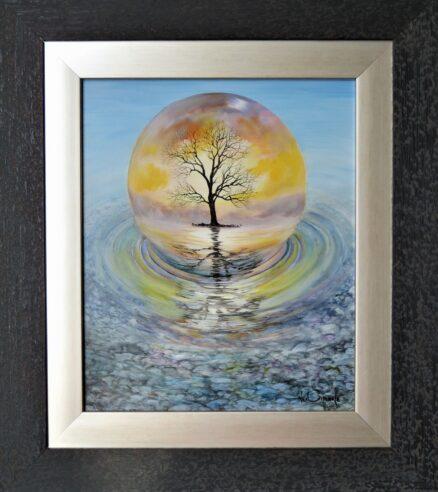 Surface Reflection Original Painting
