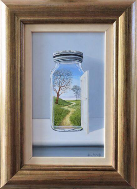 The Jar is a Door Original Painting