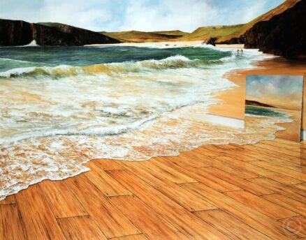 The Ocean Floor Lithograph Print