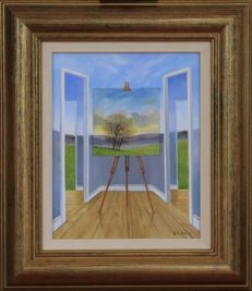 The Open Corridor Original Painting