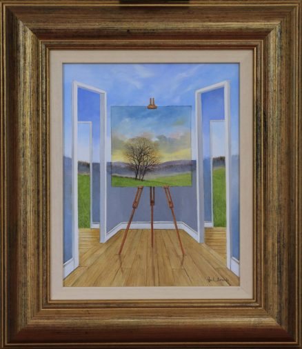 The Open Corridor Original Painting