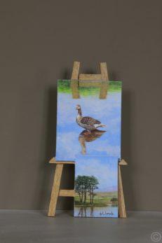 The Shallow Sky Original Painting