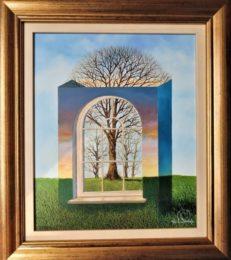 The Window Box Trees Original Painting