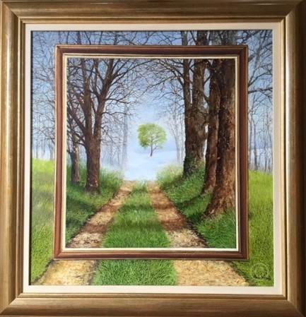 Time Frame Original Painting