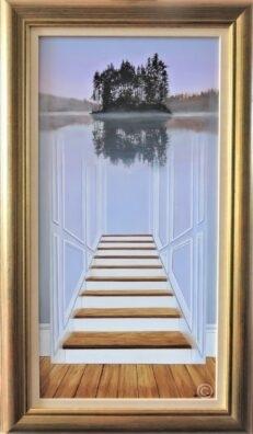 Towards the Lake of Dreams Original Painting