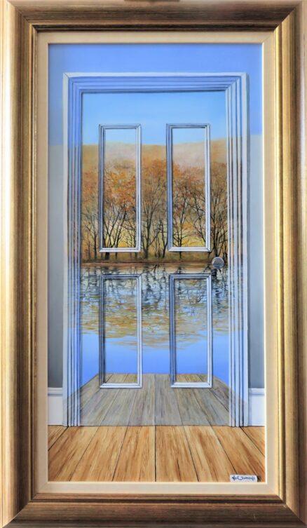 Twenty Twenty Vision Original Painting