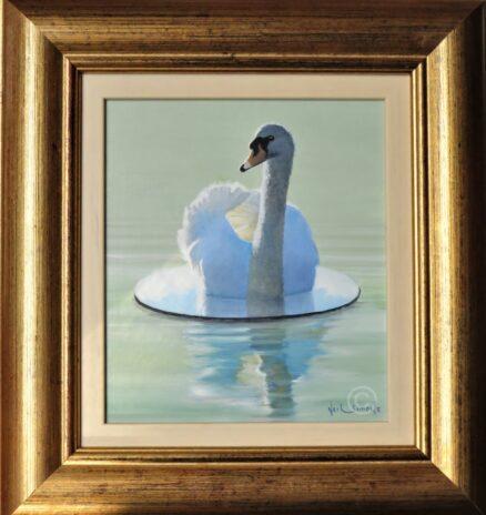 Upon The Mirror Surface Original Painting