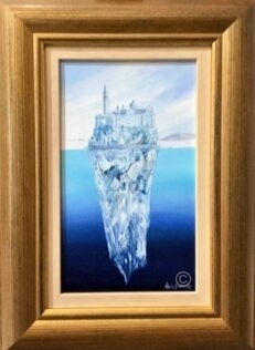 Ven-ice-berg Original Painting