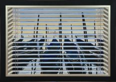 Venetian Blind Spot Original Painting