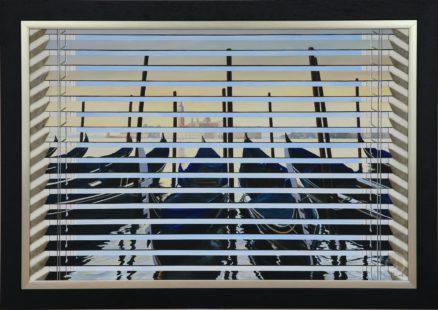 Venetian Blind Spot Original Painting
